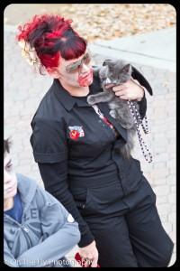 Zombie kittie!  Yay for kitties!